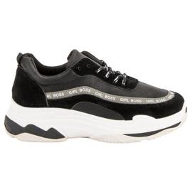 Black Sport Shoes VICES negru