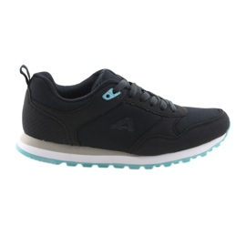 American Club WT26 pantofi sport albastru inchis