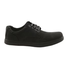 American Club CY23 pantofi sport negri negru