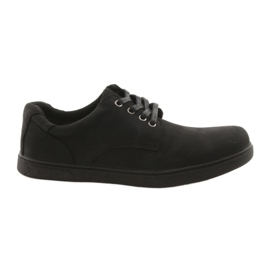 Negru American Club CY23 pantofi sport negri