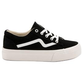 Kylie Pantofi negri la modă negru