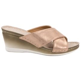 Galben Flip-flops pe VINCEZA