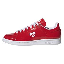 Adidas Originals pantofi Stan Smith în G28136 roșu