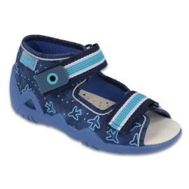 Pantofi de befado galben pentru copii 350P004