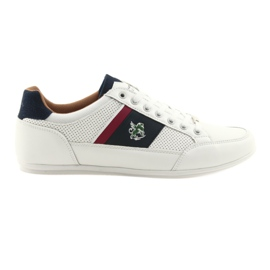 Bărbați sport pantofi Mckey 901 alb