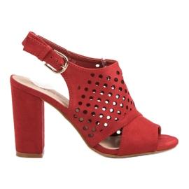 Seastar Deschidere, sandale construite roșu