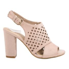 Seastar roz Deschidere, sandale construite