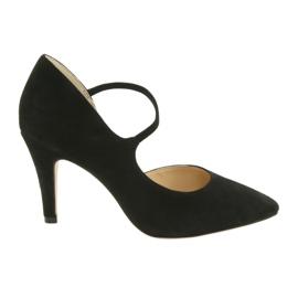Negru Pantofi pentru femei Caprice 24402 black