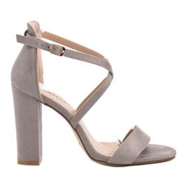 Seastar Sandale elegante gri