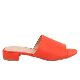 Portocaliu Papuci de portocal pentru femei XW9093 Orange