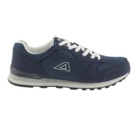 American Club 12 pantofi sport albastru bleumarin