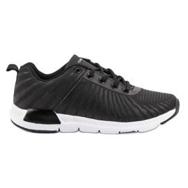 Ax Boxing negru Black Sport Shoes