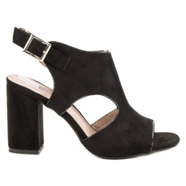 Vinceza Sandale Sandale construite negru