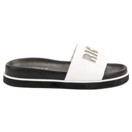 Vinceza Pantofi albi