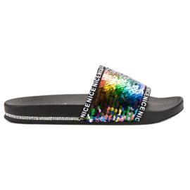 Seastar Sequins Flip Flops multicolor