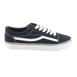 Pantofi din aluminiu, albastru maron DK