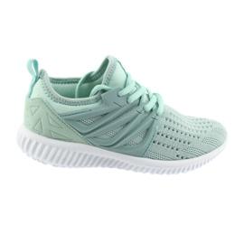 Verde Bartek branț din piele 55114 Pantofi de sport pentru mentă