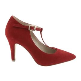 Pantofi pentru femei roșu Caprice 24400