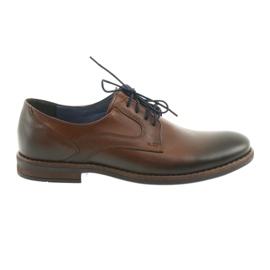 Pantofi bărbați bărbați maro Nikopol 1712
