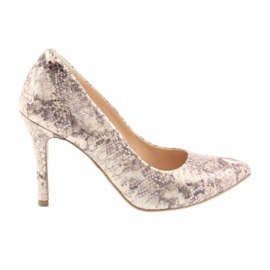 Pantofi pentru femei Edeo 3313 piele de șarpe