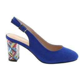 Sandale pe postul Sergio Leone 788 indigo mic albastru