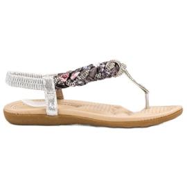 Cm Paris gri Sandale japoneze la modă