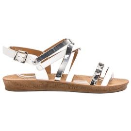 Seastar Modă sandale albe