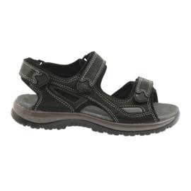 Velcro sandale lumina EVA DK negru