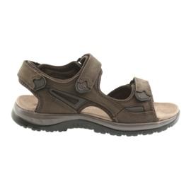 Velcro sandale lumina EVA DK fund maro