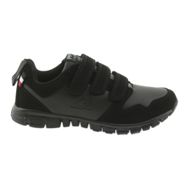 Velcro pantofi sport American Club FH16 negru