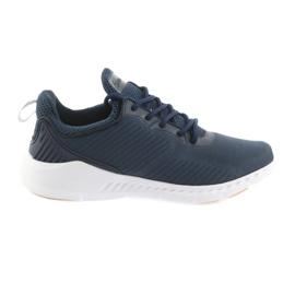 American Club American FH08 Sport Pantofi albastru bleumarin