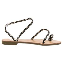 Comer negru Sandale pentru femei