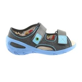 Pantofi pentru copii Befado pu 065X125 albastru gri