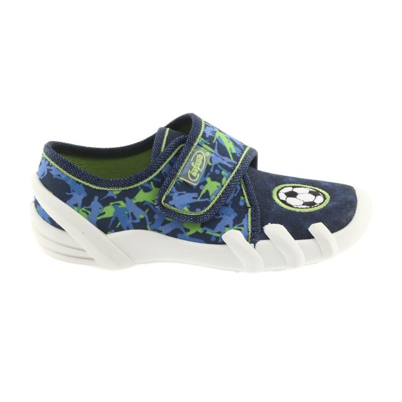 Încălțăminte pentru copii Befado 273X258 Soft-B albastru verde albastru marin