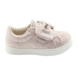 American Club Pantofii americani de club arunca ES23 roz