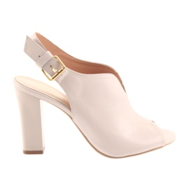 Sandale pe postul Espinto 195 pulbere roz