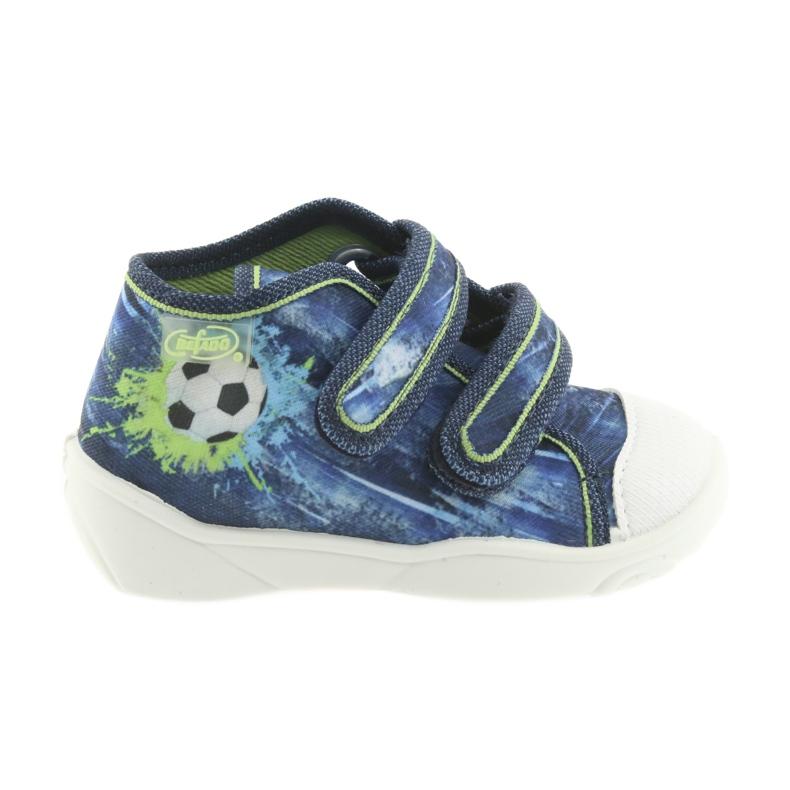 Pantofi pentru copii Befado ball 212P058 albastru verde albastru marin