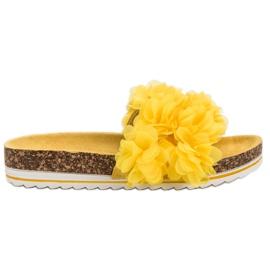 Seastar Modă papuci galbeni