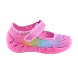 Pantofi pentru copii Befado curcubeu 109P183 multicolor