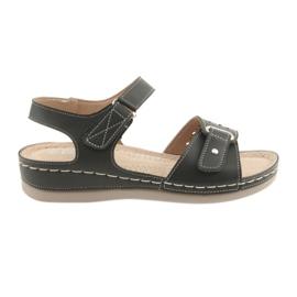 Sandale pentru femei confort DK 25131 negru