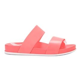 SHELOVET Papuci de Coral confortabili roșu