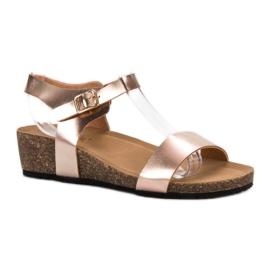Seastar galben Lacate Sandale
