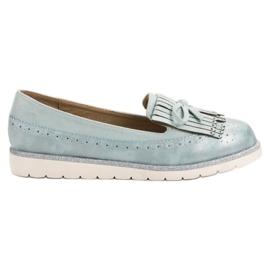Balada albastru Femeile albastre Loafers
