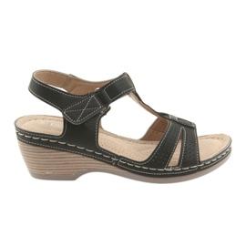 Sandale pentru femei confortabile DK negru