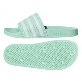 Verde Adidas Originals Adilette flip flops în CG6538