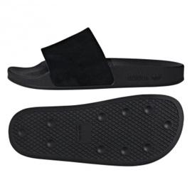 Negru Adidas Originals Adilette papuci W DA9017