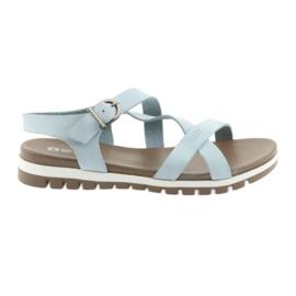 Big Star albastru Sandale confortabile