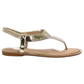 Encor galben Sandale de aur japoneze