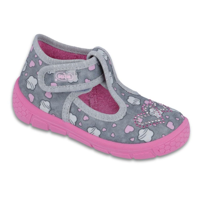 Încălțăminte pentru copii Befado 531P029 gri roz
