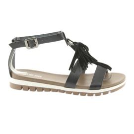 Big Star Boho sandale 274958 negru